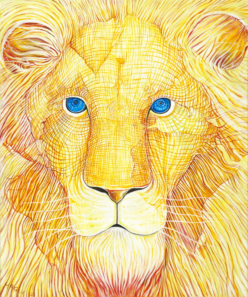 Golden Earth Lion