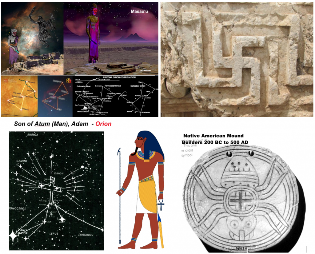 Son of Man symbols - Orion