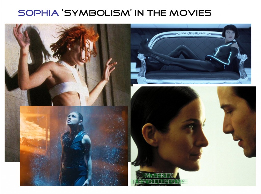 Sophia Symbolism in the movies