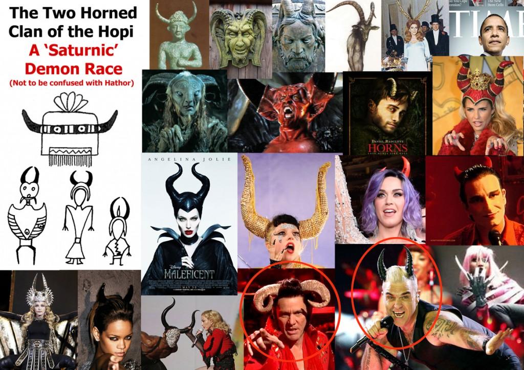 Horned race