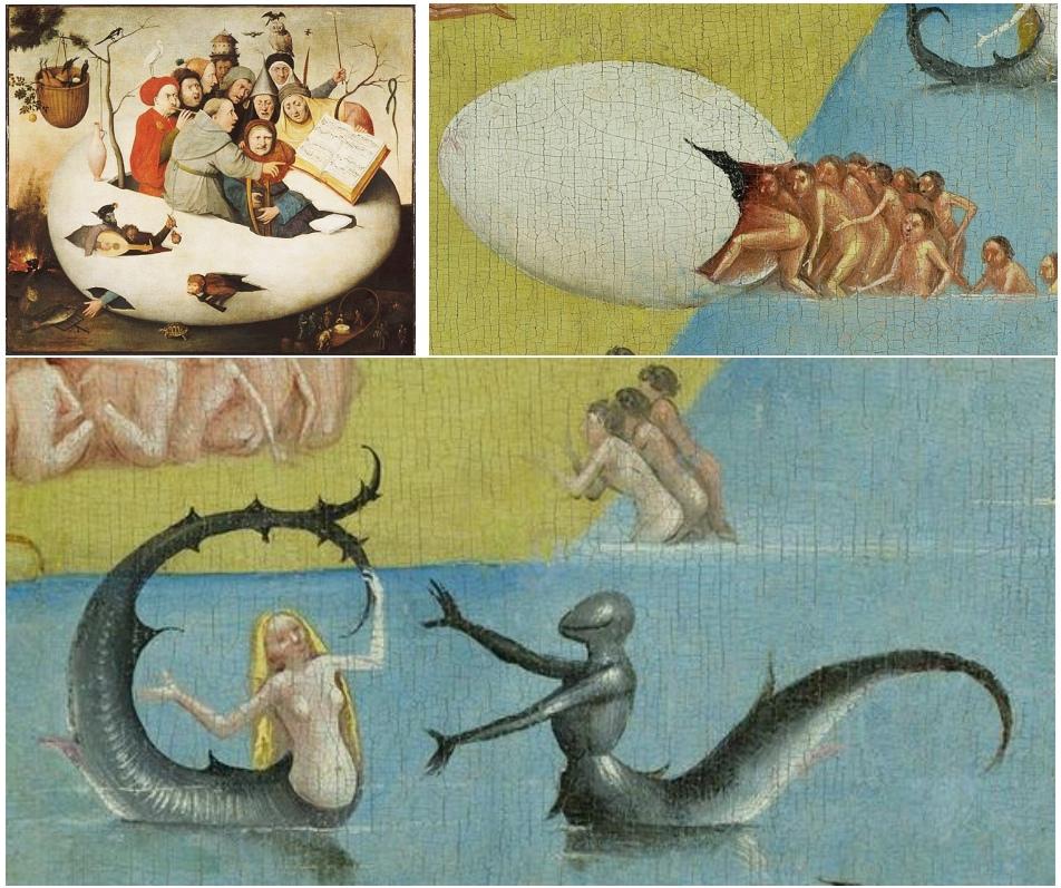 Bosch egg people