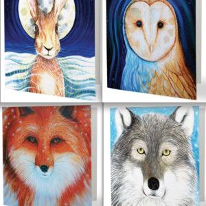 Animal spirit cards