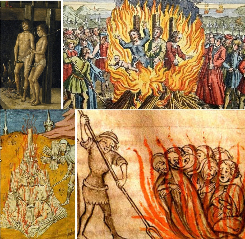Mass burnings